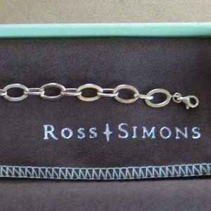 Ross Simons 14kt Gold Chain Link Bracelet
